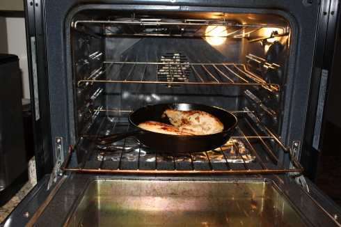 Braised Chicken in oven