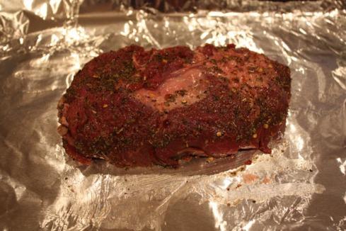 Sirloin Roast Before
