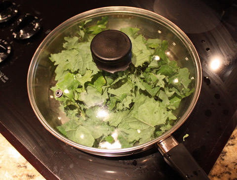Kale Cooking
