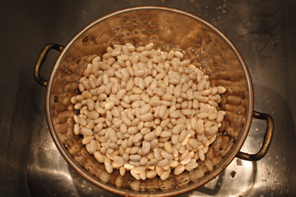 beans drained