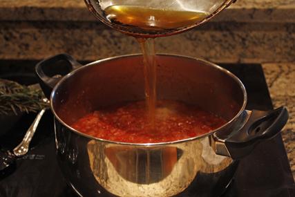 Oil in Soup