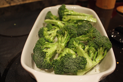 broccoli and olive oil